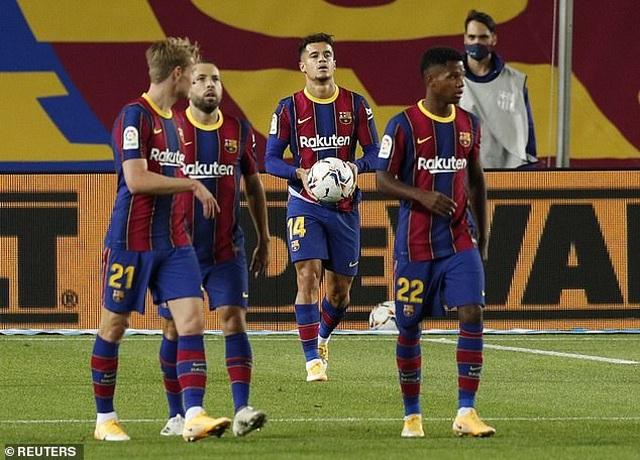 Messi nhạt nhòa, Barcelona đứt mạch toàn thắng ở La Liga - 5