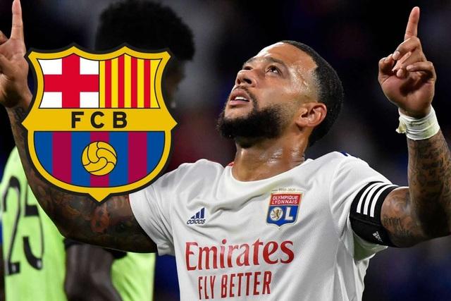 Depay gia nhập Barcelona ở ngày cuối chuyển nhượng - 1