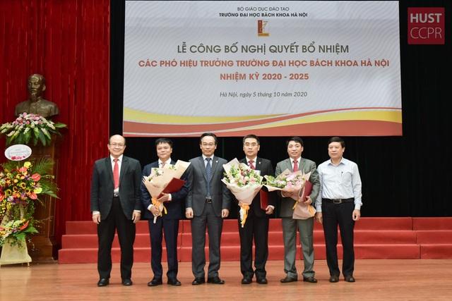 Trường ĐH Bách khoa Hà Nội bổ nhiệm 3 Phó Hiệu trưởng - 1