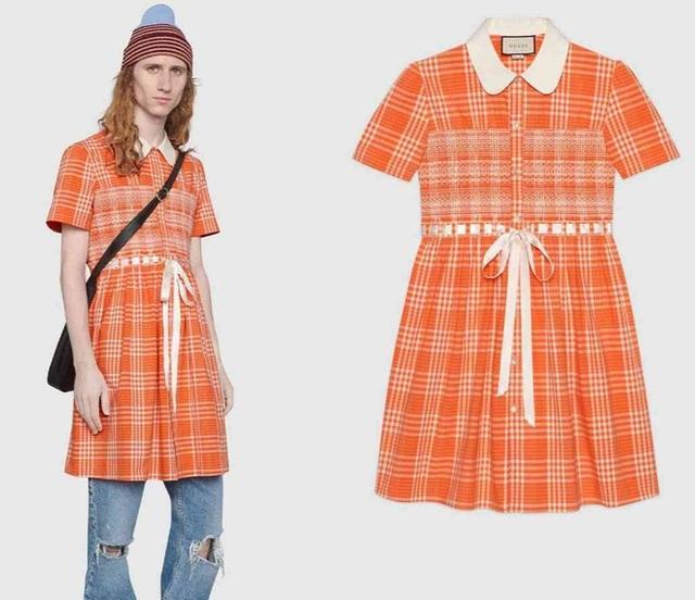 Gucci bán mẫu váy dành riêng cho nam giới giá hơn 50 triệu đồng - 1