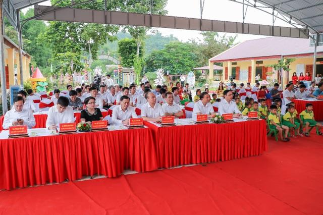 Tuyên Quang: Khánh thành công trình Trường Mầm non Kim Quan, huyện Yên Sơn do Agribank tài trợ - 1