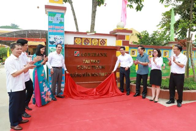 Tuyên Quang: Khánh thành công trình Trường Mầm non Kim Quan, huyện Yên Sơn do Agribank tài trợ - 3