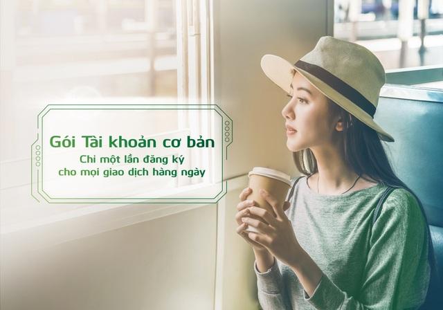 Vietcombank ra mắt 2 gói tài khoản mới, giúp khách hàng chỉ cần đăng ký một lần cho mọi nhu cầu giao dịch thường ngày - 1