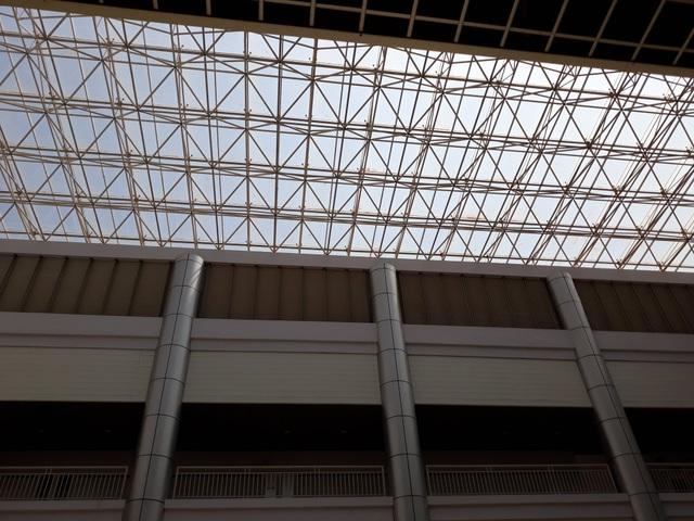 Một phần trần chống nắng của Bệnh viện nghìn tỷ Tây Nguyên bất ngờ bị sập - 7