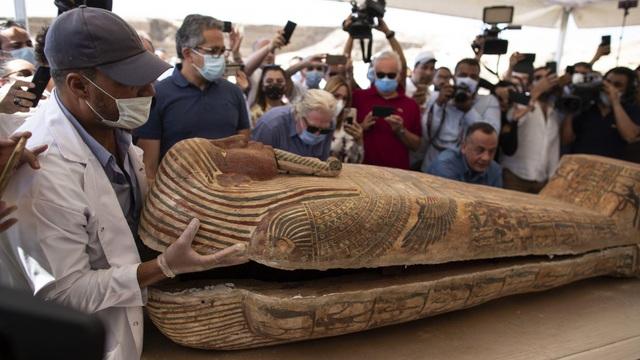 Phát hiện 59 quan tài cổ 2.600 năm tuổi ở Ai Cập - 3