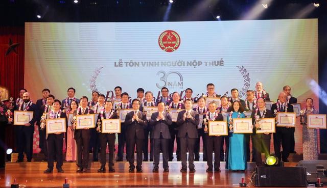 Tập đoàn Điện lực Việt Nam được vinh danh về nộp thuế - 1