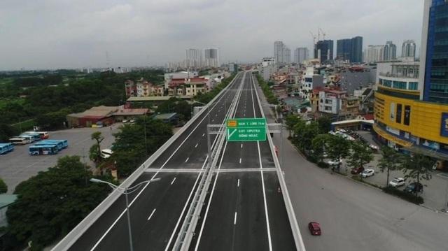 Ngày 10/10 thông xe dự án đường trên cao đẹp nhất Hà Nội - 1