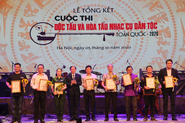 Bế mạc Cuộc thi Độc tấu và Hòa tấu nhạc cụ dân tộc toàn quốc 2020 - 3