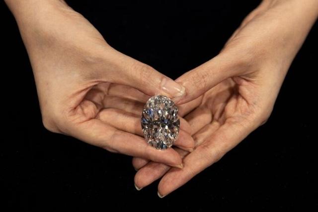 Viên kim cương không tì vết cực hiếm giá gần 16 triệu USD - 1