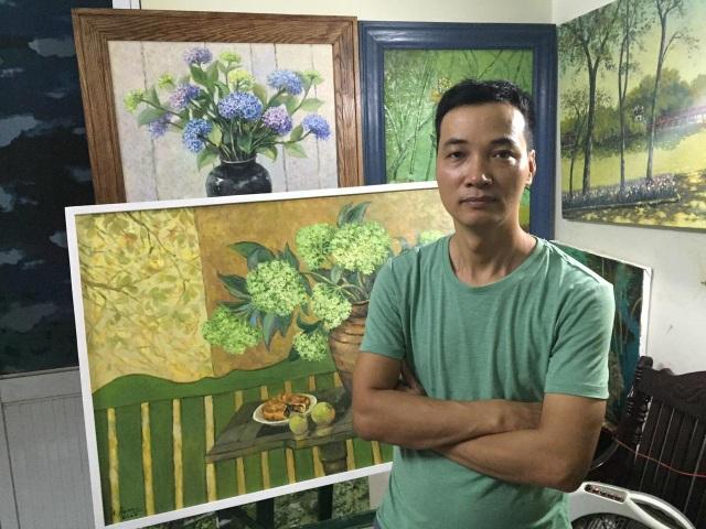 """8 họa sĩ gửi thông điệp """"sống bình tĩnh"""" thông qua 50 bức tranh đặc sắc - 5"""