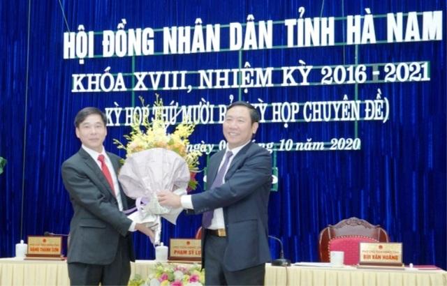 Bí thư Thị ủy Duy Tiên được bầu làm Chủ tịch tỉnh Hà Nam - 2