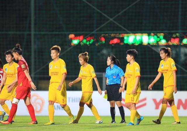 Đội trưởng CLB nữ Hà Nam viết tâm thư xin lỗi sau sự cố bỏ dở trận đấu - 1