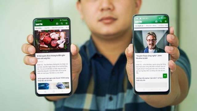 """Bộ đôi smartphone tầm trung Oppo A93 và Vsmart Aris """"đọ dáng"""" - 1"""