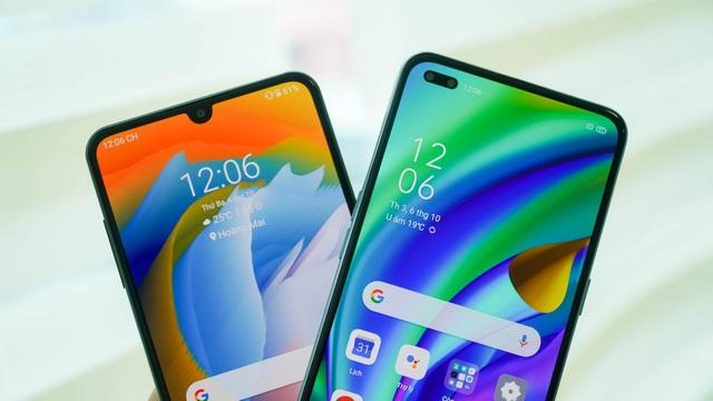 """Bộ đôi smartphone tầm trung Oppo A93 và Vsmart Aris """"đọ dáng"""" - 2"""