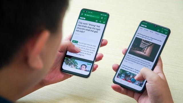 """Bộ đôi smartphone tầm trung Oppo A93 và Vsmart Aris """"đọ dáng"""" - 7"""