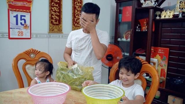 Phan Hiển lần đầu vào bếp lóng ngóng nấu cơm thay Khánh Thi - 4