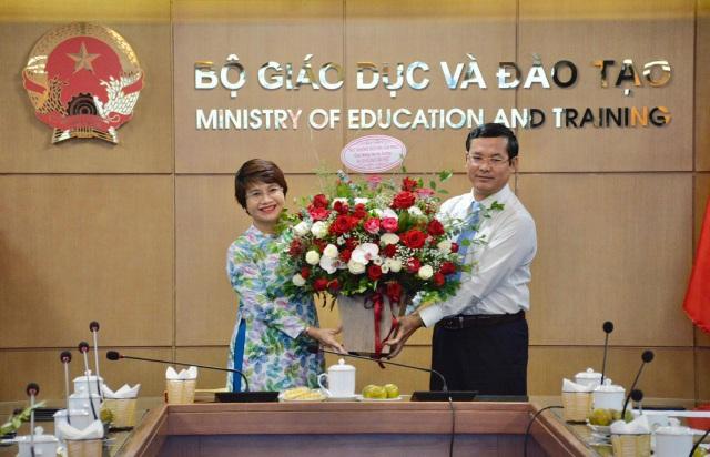 PGS.TS Nguyễn Thu Thủy chính thức làm Vụ trưởng Vụ Giáo dục Đại học - 1
