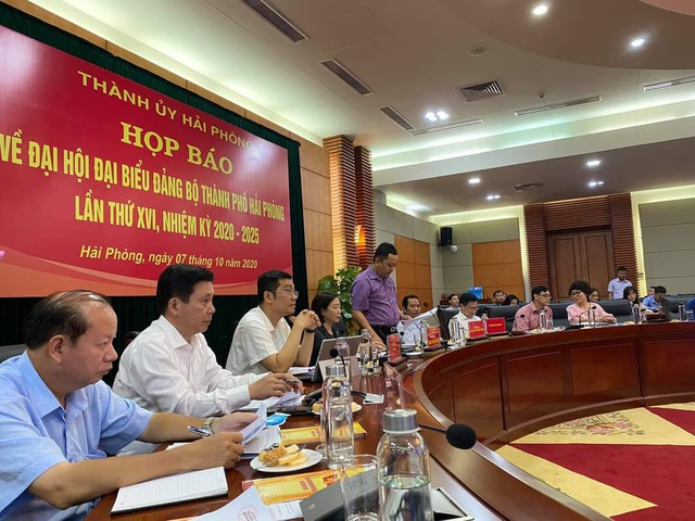 Đại hội Đảng bộ TP Hải Phòng mang chủ đề đổi mới mạnh mẽ - 1