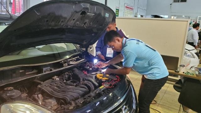 Kỳ thi kỹ năng nghề Quốc gia: Thợ nghề trẻ quyết liệt so tài - 11