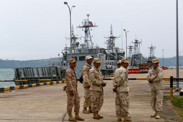 Thủ tướng Campuchia nói căn cứ hải quân không dành riêng cho Trung Quốc - 1