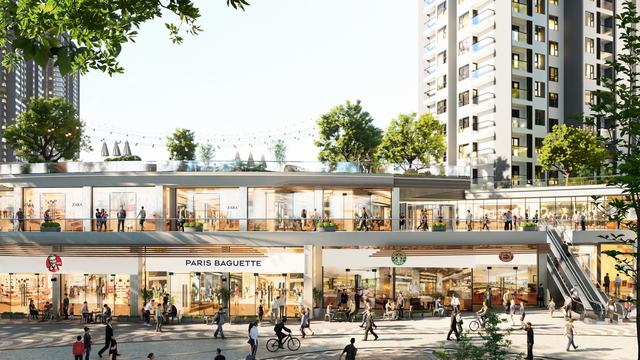 Ecopark triển khai trung tâm thương mại liên hoàn 300m trước toà tháp 5 sao đầu tiên - 1
