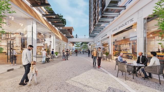 Ecopark triển khai trung tâm thương mại liên hoàn 300m trước toà tháp 5 sao đầu tiên - 4