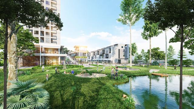Ecopark triển khai trung tâm thương mại liên hoàn 300m trước toà tháp 5 sao đầu tiên - 5