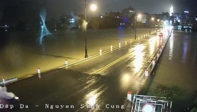 Mưa cực lớn, nước ngập ngang người, cây đổ la liệt - 9
