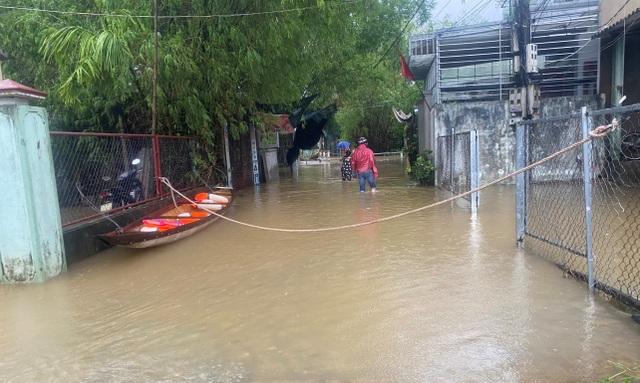 Mưa cực lớn, nước ngập ngang người, cây đổ la liệt - 2