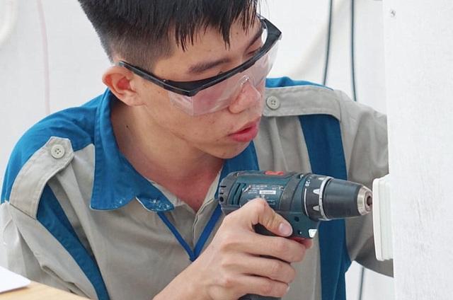 Kỳ thi kỹ năng nghề Quốc gia: Thợ nghề trẻ quyết liệt so tài - 3