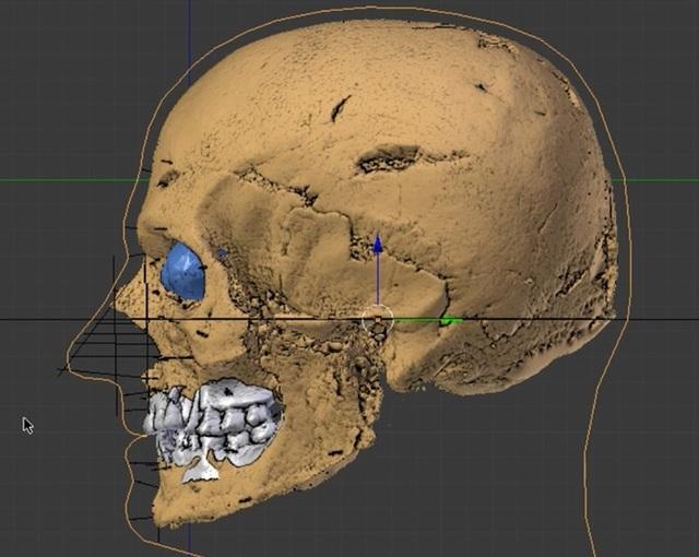 Sọ người gần 2.000 năm đột nhiên lóe sáng, xem kỹ thấy điều bất ngờ - 2