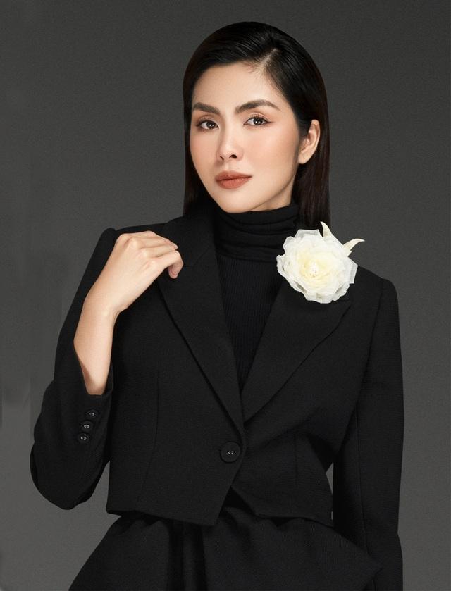 """""""Bà mẹ hai con"""" Tăng Thanh Hàhiếm hoi làm người mẫu sau khi giải nghệ - 3"""