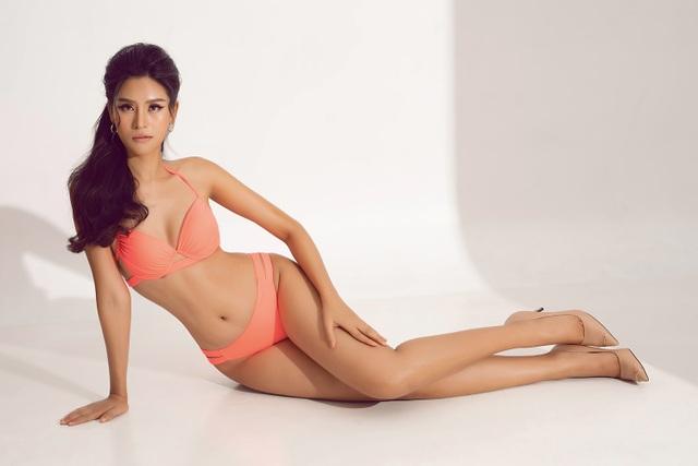 Thái Thị Hoa khoe dáng với bikini trước thềm Hoa hậu Trái Đất 2020 - 3