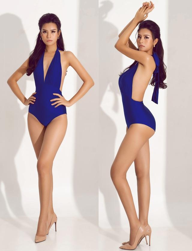 Thái Thị Hoa khoe dáng với bikini trước thềm Hoa hậu Trái Đất 2020 - 5