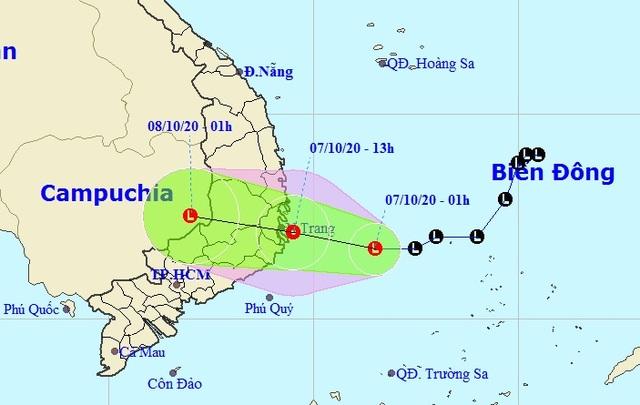 Vùng áp thấp trên Biển Đông gây mưa rất to ở miền Trung và Tây Nguyên - 1