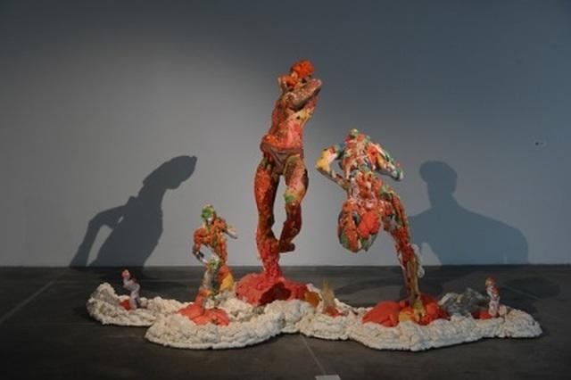 Những điểm nhấn nghệ thuật không thể bỏ lỡ của triển lãm Điêu khắc Hà Nội - Sài Gòn 2020 - 5