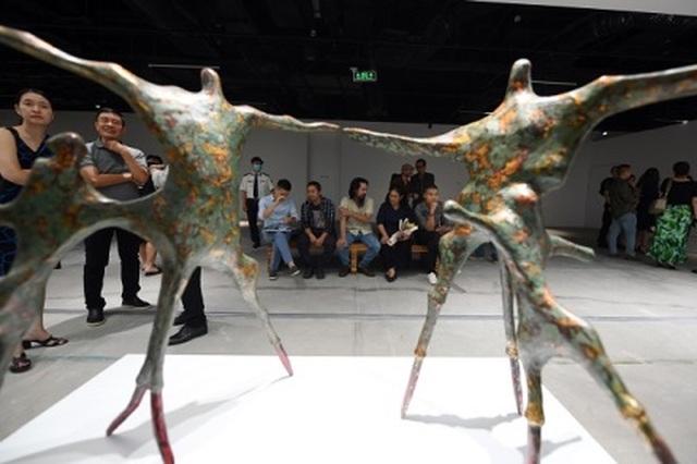 Những điểm nhấn nghệ thuật không thể bỏ lỡ của triển lãm Điêu khắc Hà Nội - Sài Gòn 2020 - 7