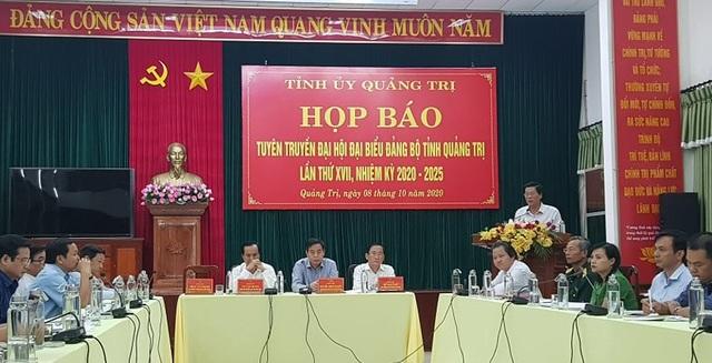 Quảng Trị tổ chức Đại hội Đảng bộ tỉnh tiết kiệm, nhưng đảm bảo trang trọng - 1