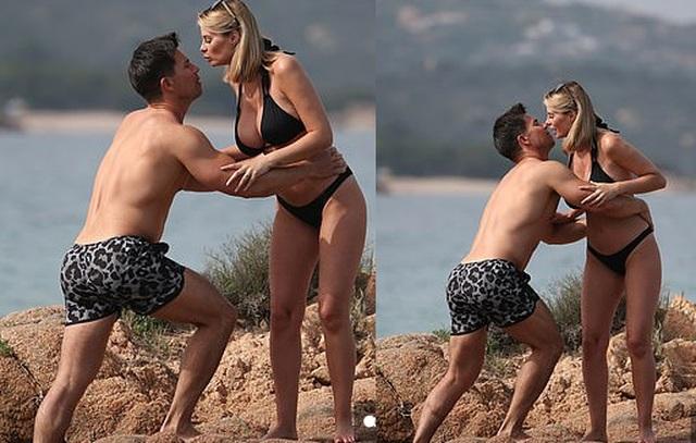 Vợ chồng người mẫu Rhian Sugden tình tứ trên biển - 6