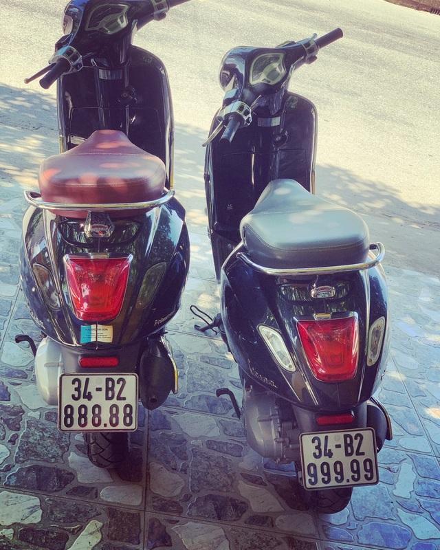 Ăn chơi nhất Việt Nam: Gom mua cả dàn xe máy mang biển ngũ quý từ 1 - 9 - 2