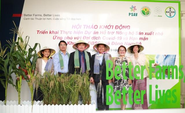 Dự án toàn cầu của Bayer hỗ trợ nông dân ứng phó đại dịch Covid -19 và hạn mặn - 3