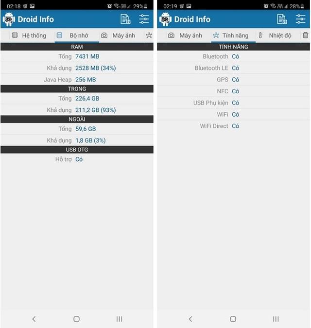 Hướng dẫn cách kiểm tra cấu hình chi tiết của smartphone và máy tính bảng - 3