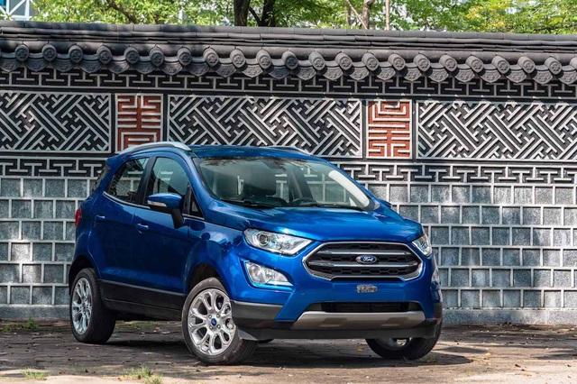 Ford EcoSport 2020 ra mắt: Bỏ lốp dự phòng, thêm trang bị đấu Kona, Seltos - 1