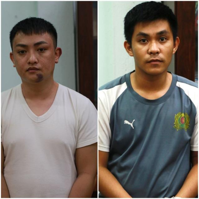 Bắt hai anh em họ chuyên giật tài sản của phụ nữ đi đường ở Đà Nẵng - 1
