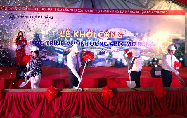 Đà Nẵng khởi công công trình Vườn tượng APEC mở rộng - 1