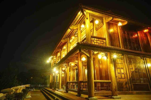 Cận cảnh nhà sàn rộng 300m2 toàn gỗ quý của vị doanh nhân ở Đà Lạt - 4