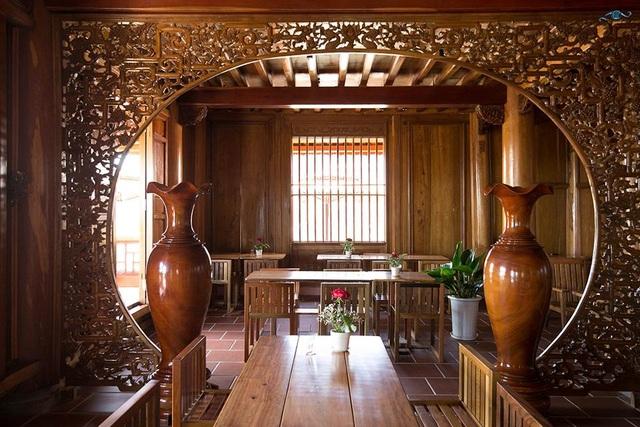 Cận cảnh nhà sàn rộng 300m2 toàn gỗ quý của vị doanh nhân ở Đà Lạt - 5