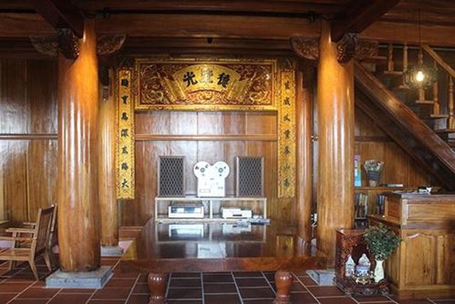 Cận cảnh nhà sàn rộng 300m2 toàn gỗ quý của vị doanh nhân ở Đà Lạt - 6