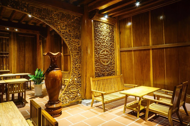 Cận cảnh nhà sàn rộng 300m2 toàn gỗ quý của vị doanh nhân ở Đà Lạt - 13