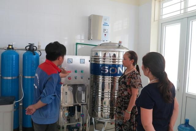 Australia tài trợ lắp đặt hệ thống lọc nước ô nhiễm ở đồng bằng sông Hồng - 2
